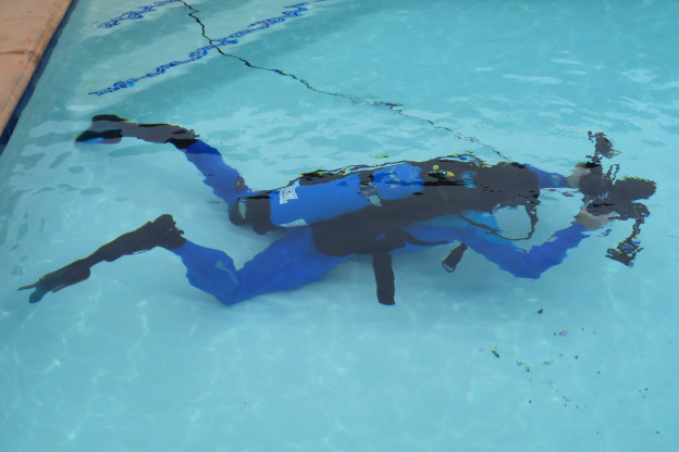Canon 5D Mark lll camera in Aquatica Housing with Dive and See HDMI cable to the surface