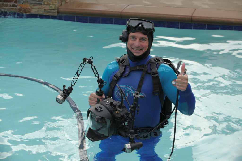 Underwater director of photography Jim Knowlton